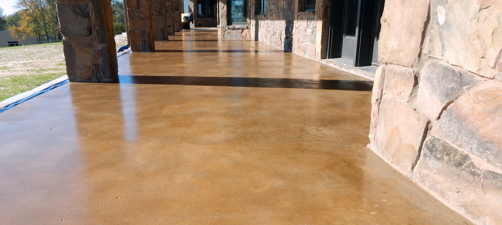 100 how to stain a concrete floor 131 best images about for Concrete flooring service